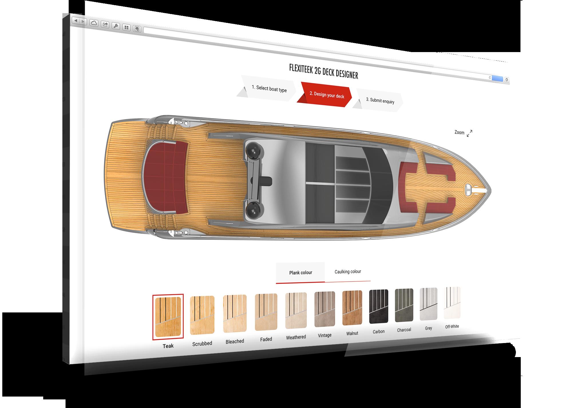 Design your dream Motor Boat Deck