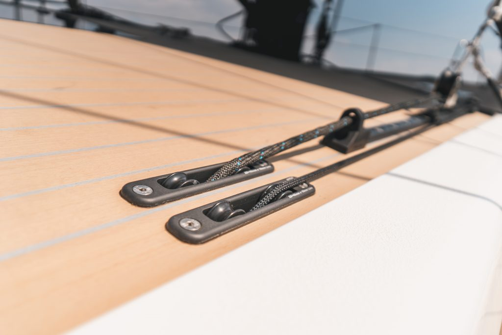 Flexiteek 2G synthetic teak on X-yachts X56